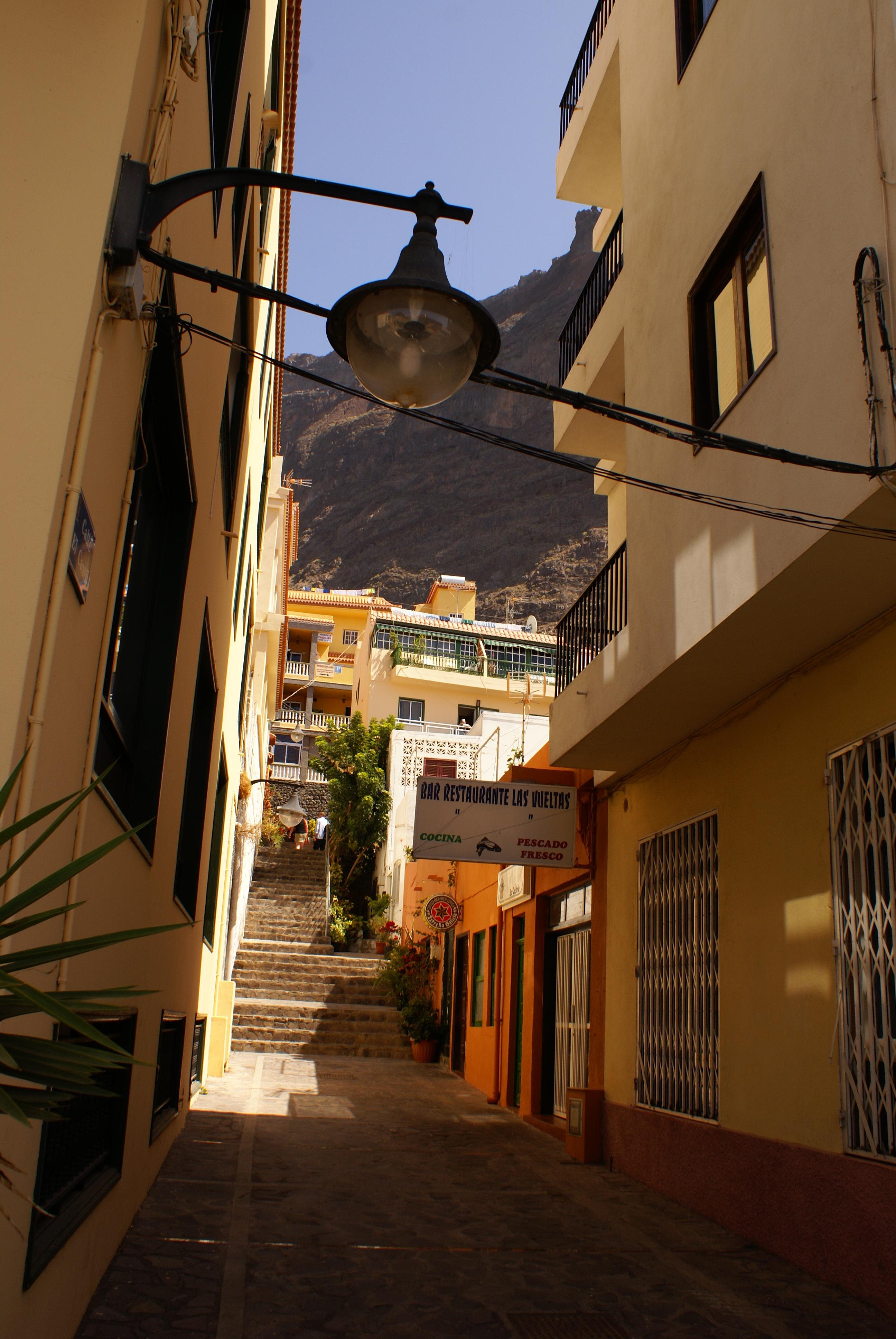 Uliczka, Valle Gran Rey