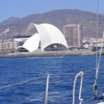 sala operowa Auditorio autorstwa Calatravy