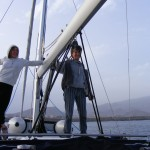 Dopływając do Teneryfy