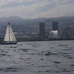 Santa Cruz z morza