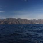 Teneryfa, widok z morza