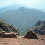 Widok z Roque de Los Muchachos