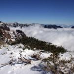 Szczyty Roque zimą