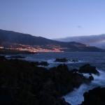 Widok z Los Cancajos na Santa Cruz