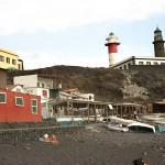 Fuencaliente - plaża i latarnia morska