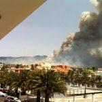 Pożar w El Paso, La Palma, 16.07.2012