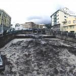 Wypłukane w 2011 roku samochody - barranco de Las Nieves, Santa Cruz de La Palma