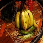 Podręczny zestaw bananów