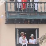 Szczęściarze posiadający balkon