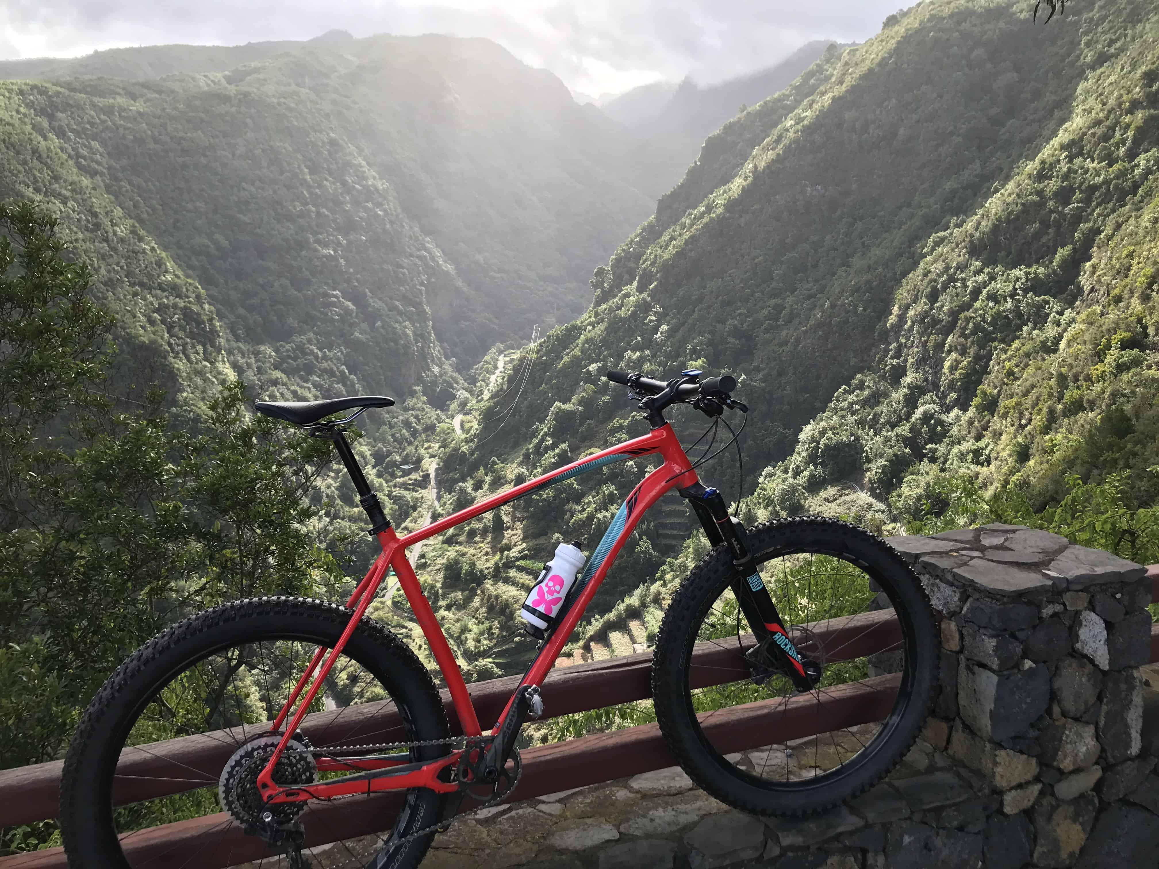La Palma na Rowerze. Fot. Marek